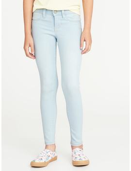 Light Wash Ballerina Jeggings For Girls by Old Navy
