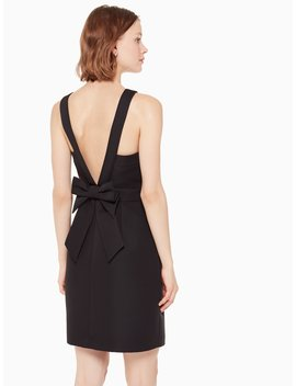 Bow Back Faille Dress by Kate Spade