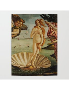 The Birth Of Venus By Sandro Botticelli Poster by