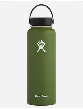 Hydro Flask Olive 40oz Wide Mouth Water Bottle by Hydro Flask