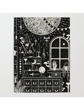 Moon Altar Poster by
