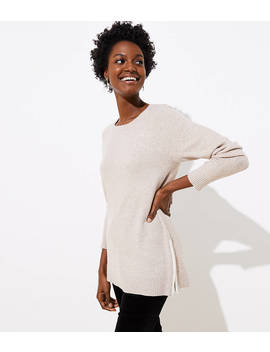 Side Zip Tunic Sweater by Loft