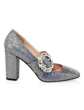 Celine Glitter Mary Jane Heels by Sjp By Sarah Jessica Parker