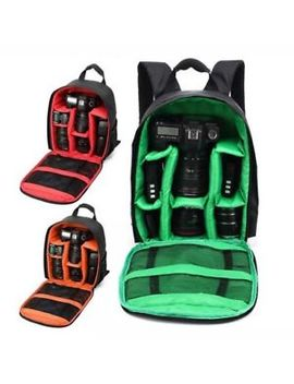 Waterproof Digital Dslr Camera Video Backpack Shoulder Bag Case For Canon Nikon by Unbranded