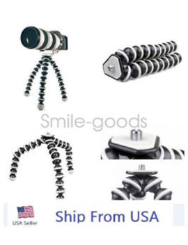 Octopus Flexible Tripod Stand Gorillapod For Canon Nikon Camera Digital Dv by Unbranded