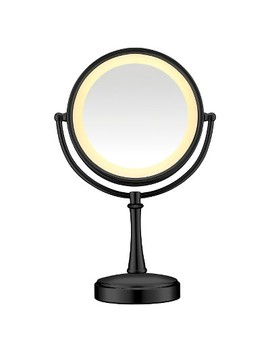 Conair Cosmetic Mirror Matte Finish   Black by Conair