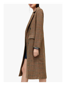 Warehouse Full Length Check Coat, Multi by Warehouse