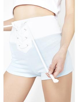Contrast Mae Shorts by Wildfox Couture