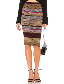 Knit Mini Skirt by Diane Von Furstenberg