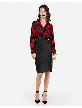 Slim Plaid Portofino Shirt by Express