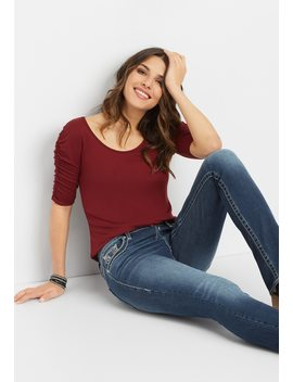 Vigoss® Mid Rise Slim Boot Jean by Maurices