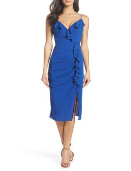 Camilla Frill Sheath Dress by Cooper St