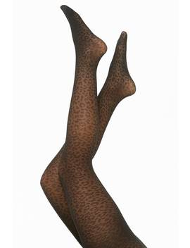 Leopard Print Tights by Forever 21