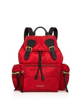 Medium Quilted Nylon Rucksack   100 Percents Exclusive by Bloomingdales