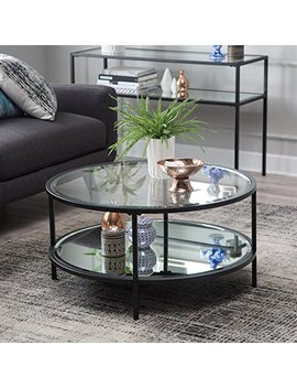 Lamont Round Coffee Table   Black by Unknown