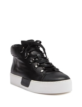 Wrine High Top Leather Sneaker by 1.State
