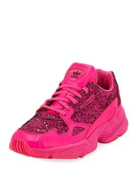 Falcon Women's Glitter Sneakers by Adidas