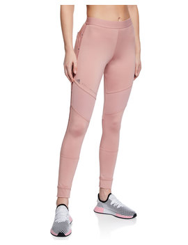 Performance Essentials Mesh Tights by Adidas By Stella Mc Cartney