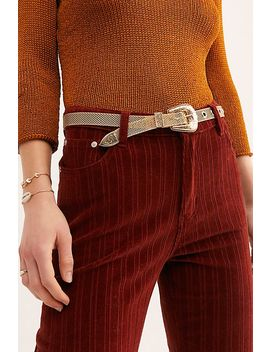 Baby Frank Mesh Belt by Free People