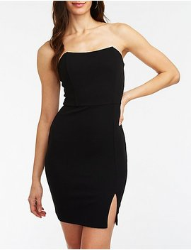 Wired Bodice Bodycon Dress by Charlotte Russe