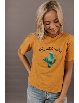 The Wild Cactus Tee by Roolee