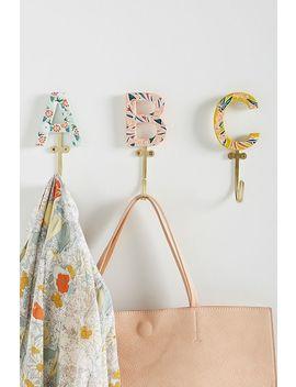 Matilde Monogram Hook by Anthropologie