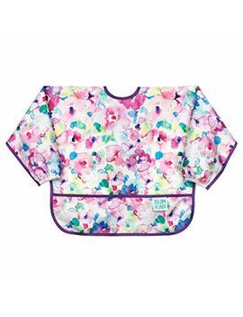 Bumkins  Sleeved Bib / Baby Bib / Toddler Bib / Smock, Waterproof, Washable, Stain And Odor Resistant, 6 24 Months    Watercolor by Bumkins