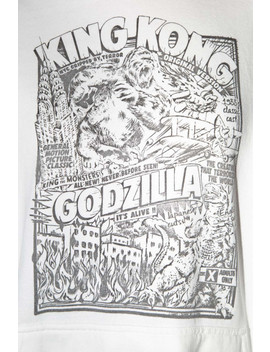Christy King Kong Godzilla Hoodie by Brandy Melville