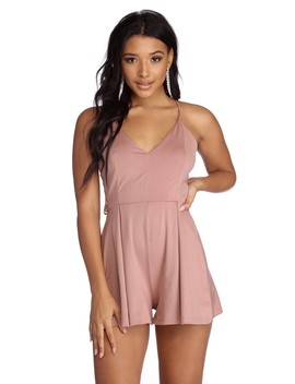 Sparkle Queen Knit Romper by Windsor