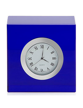 Cube Table Clock by Z Gallerie