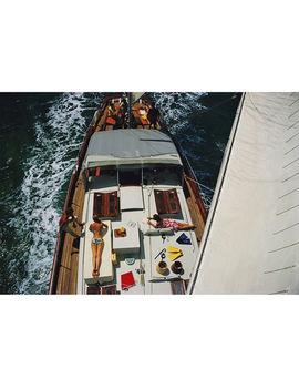 "Slim Aarons ""Deck Dwellers"" Photograph by Jonathan Adler"