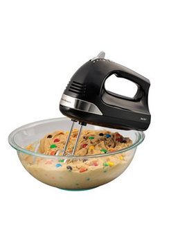 Hand Mixer With Snap On Case by Hamilton Beach