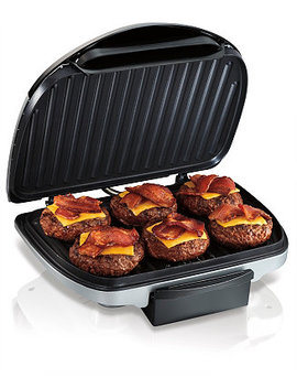 90 Sq. Inch Non Stick Indoor Grill by Hamilton Beach