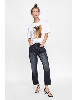 Printed Photograph T  Shirt$9.99 Best Of Sale Woman Sale by Zara