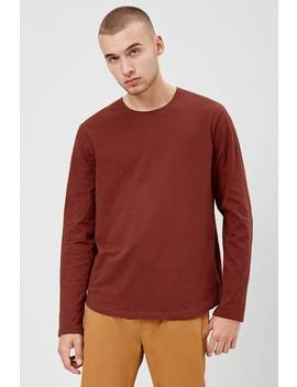 Curved Long Sleeve Tee by Forever 21