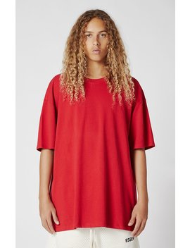 Fear Of God   Fog Essentials Boxy Graphic T Shirt by Pacsun
