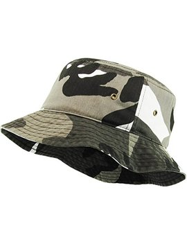 Kbethos Unisex 100 Percents Washed Cotton Bucket Hat Summer Outdoor Cap by Kbethos