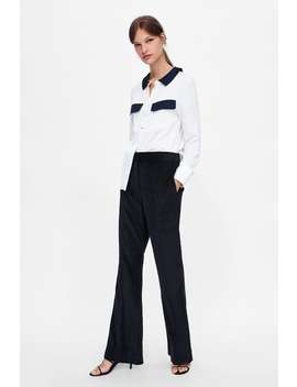 Shirt With Matching Pockets  Topsstarting From 50 Percents Off Woman Sale by Zara