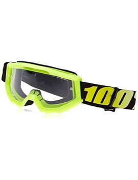 100 Percents Strata Goggle Neon Yellow by 100%