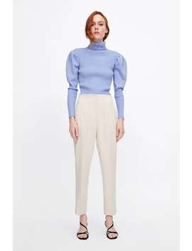 High Waist Trousers  View All Pants Woman New Collection by Zara