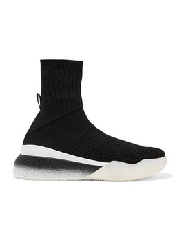 Stretch Knit Sneakers by Stella Mc Cartney