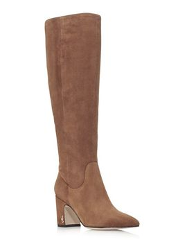 Women's Hai Suede Tall Boots   100% Exclusive by Sam Edelman