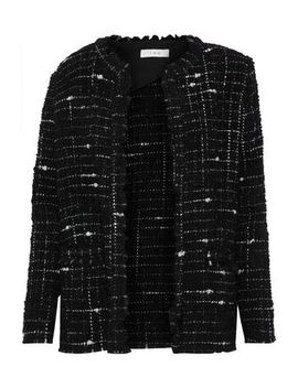 Frayed Bouclé Tweed Blazer by Iro