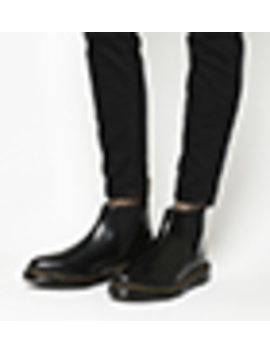 Bianca Low Shaft Zip Chelsea by Dr. Martens