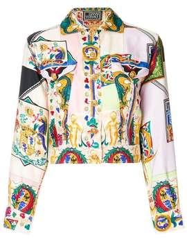 Atelier Printed Jacket by Versace Vintage