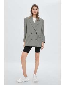 Plaid Blazer  New Intrf New Collection by Zara