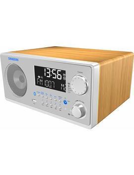 Sangean Wr 22 Se Am/Fm Rds/Bluetooth/Usb Table Top Digital Tuning Receiver W/Remote Control (Light Walnut) Special Edition by Sangean