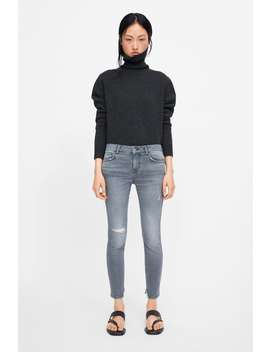 Z1975 Ripped Skinny Jeans  New Inwoman New Collection by Zara