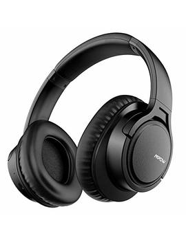 Mpow H7 Bluetooth Headphones Over Ear, 18 Hours Playtime & Comfortable Earpads, Wired And Wireless Headphones For Cellphone/Tablet by Mpow