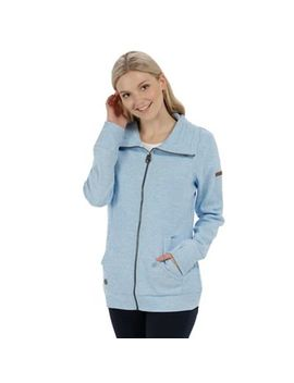 Regatta   Blue 'elayna' Fleece Sweater by Regatta